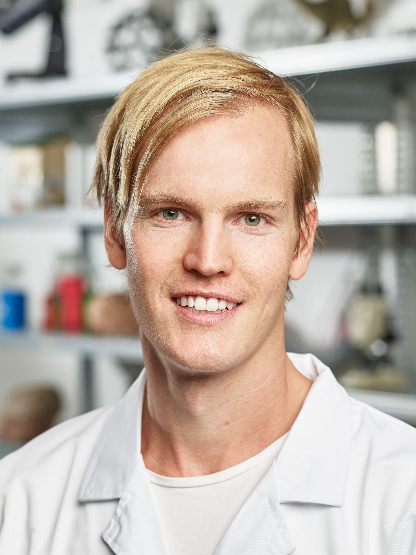 Nettbutikkansvarlig Daniel Johansson