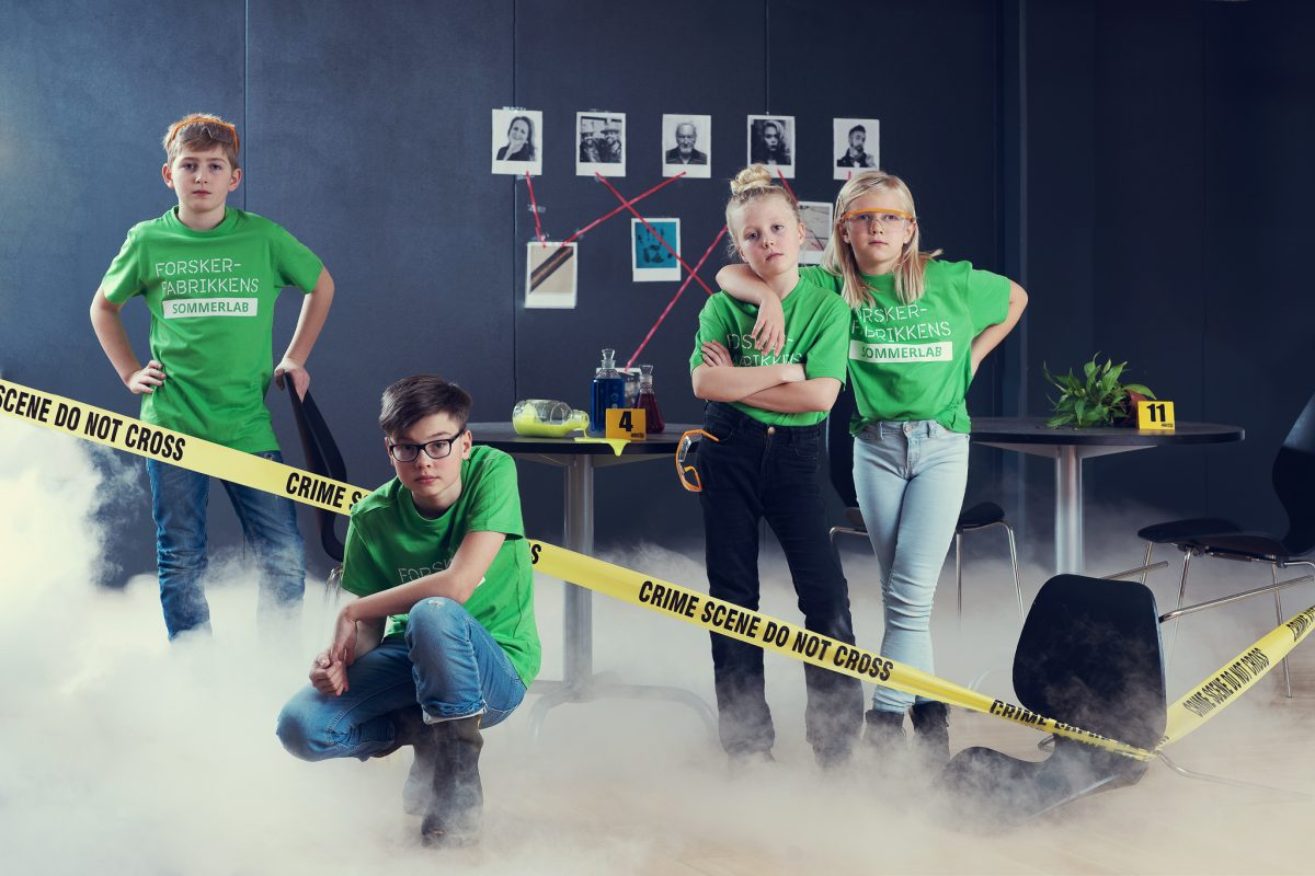 Forskerfabrikkens Sommerlab – Energimysteriet