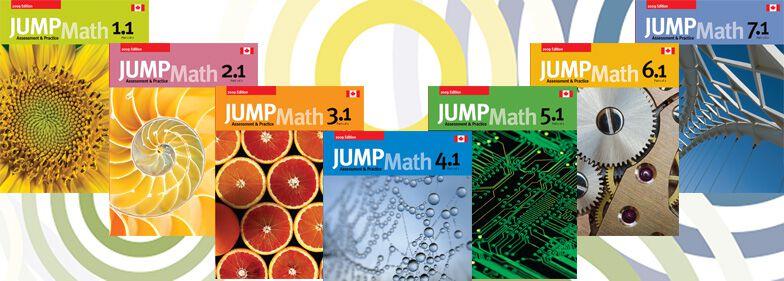Gode lærebøker på engelsk for JUMPMath