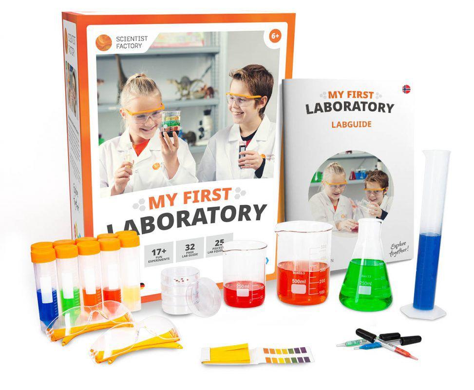 Mitt første laboratorium-kit